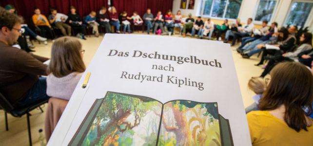 """Erste Leseprobe für """"Das Dschungelbuch"""""""